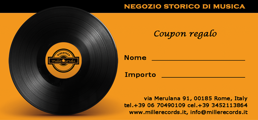 Coupon-Regalo di Millerecords