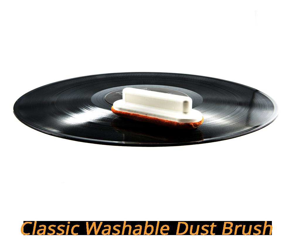 spazzoletta lavabile per togliere la polvere da dischi in vinile