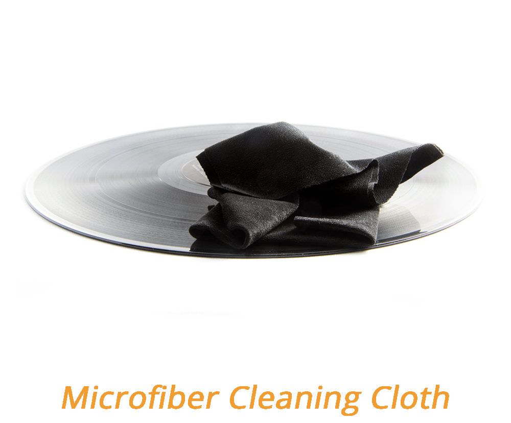 Pannetto in microfibra per pulire dischi
