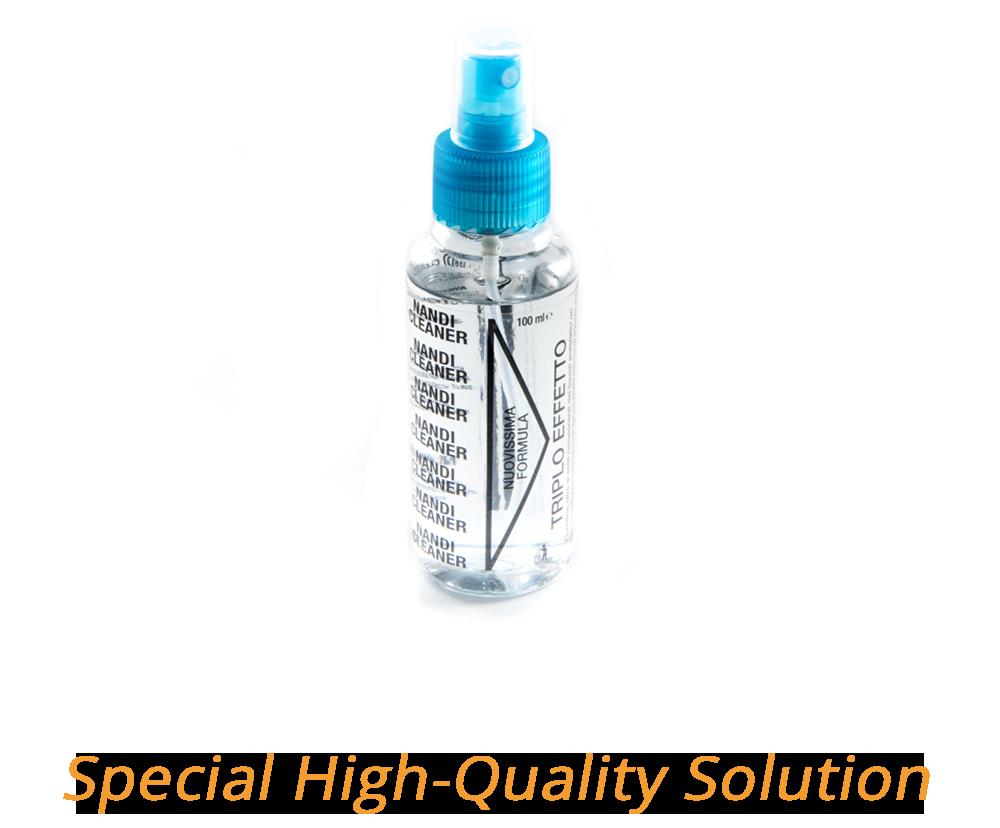 Liquido speciale per pulire Dischi